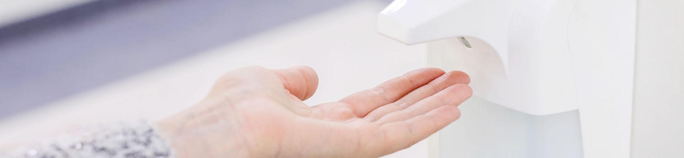Banner_Handdesinfektion